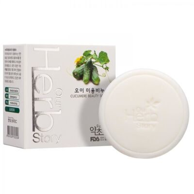 Hyundai our herb story Beauty soap cucumber
