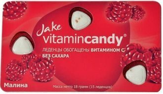 JAKE Vitamincandy Малина 1/12