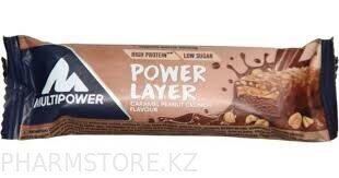 Power Layer caramel peanut crunch  flavour