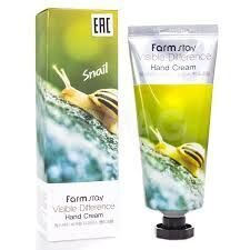 FarmStay крем для рук на экстракте слизи улитки Visible Difference Hand Cream Snail 100 мл