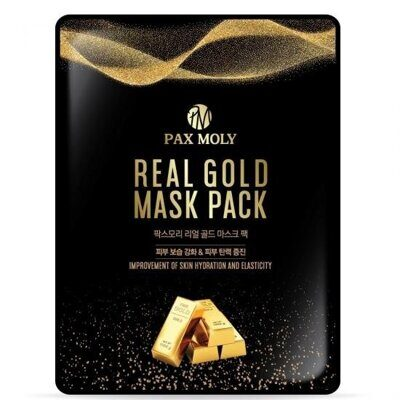 маска PAXMOLY Real Gold Mask Pack